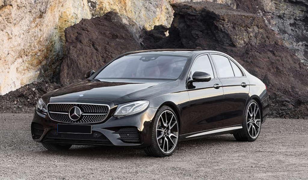 Front Mercedes E