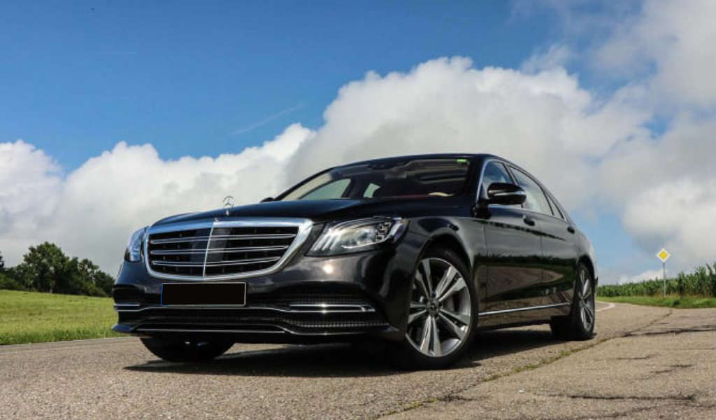 Front Mercedes S