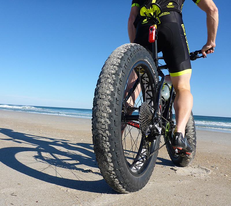 Bike Sicily Beach